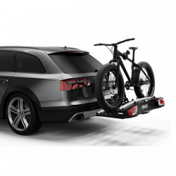 Pachet promo: Suport pentru 3 biciclete Thule VeloSpace XT3, prindere pe carligul de remorcare , 13 pini + Adaptor pentru bicicleta suplimentara Thule 9381 , compatibil cu modelele VeloSpace XT