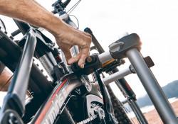 Suport bicicleta ATERA Genio Pro 2 cu prindere pe carlig de remorcare pentru 2 biciclete
