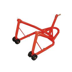 Suport stand, cric universal (roata spate) motocicleta cu set capete reglaje pe cadru