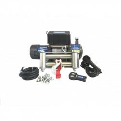Troliu auto Husar Winch 8500Lbs 3856KG cablu de otel telecomanda cu fir si wireless