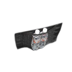 Buzunar din plasa elastica portbagaj/scaun 40x25 cm, Lampa
