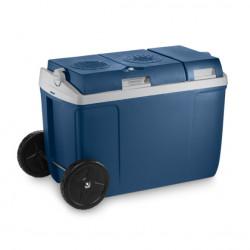 Cutie termoelectrica cu roti pentru transport usor Mobicool W38 AC/DC , alimentare la 12V DC/230V AC, capacitate 37 litri