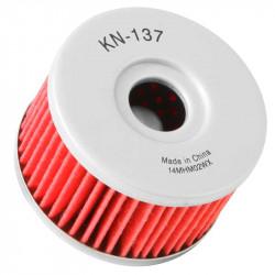 Filtru ulei K&N pentru motociclete, KN137 (HF137)
