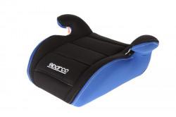 Inaltator auto Sparco Booster F100K, varsta recomandata 4-12 ani, Negru/Albastru