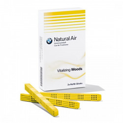 Set rezerve odorizant auto original BMW Natural Air, 3 buc aroma Vitalizing Woods