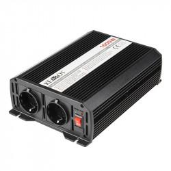 Invertor Kemot 24V,230V 1000W, 2 iesiri