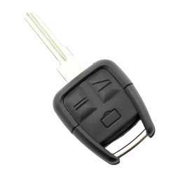 Opel - Carcasa cheie cu 3 butoane, lama pe dreapta