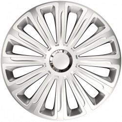 Set Capace Roti Auto Jante Trend RC 4buc - Argintiu - 16 inch