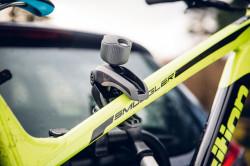 Suport bicicleta THULE VeloCompact 927 pentru 3 biciclete cu prindere pe carligul de remorcare, 7 pini
