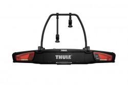 Suport biciclete Thule VeloSpace XT cu prindere pe carligul de remorcare (13 pini) - pentru 2 biciclete , culoare neagra