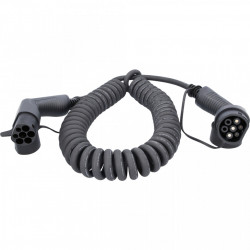 Cablu de incarcare spirala TYPE 2 / TYPE 2 7.4 KW 230 V 32 A 5M-EFUTURO KS-TOOLS