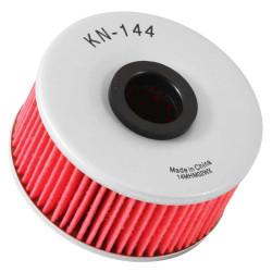 Filtru ulei K&N pentru motociclete, KN144 (HF144)