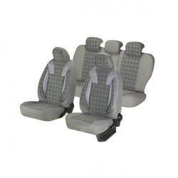 Huse scaune auto Umbrella Luxury VOLKSWAGEN SHARAN Piele ecologica Gri Textil