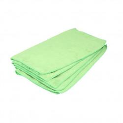 Laveta auto microfibra Kaja, 320g/m2, 40x40cm, verde, 5buc