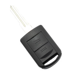Opel - Carcasa cheie cu 2 butoane, lama pe stanga