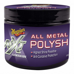 Pasta polish metale Meguiar's - All Metal Polish, 142 gr.