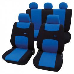 Set 11 huse auto Petex, Colori, culoare albastru/negru