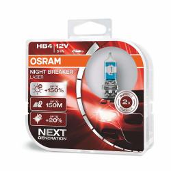 Set 2 buc Bec HB4 Night Breaker Laser Next Generation +150% 12V 55W