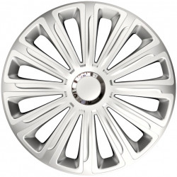 Set Capace Roti Auto Jante Trend RC 4buc - Argintiu - 14 inch