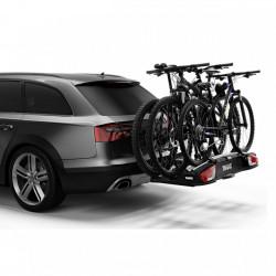 Suport biciclete Thule VeloSpace XT cu prindere pe carligul de remorcare (13 pini) - pentru 3 biciclete , culoare argintie