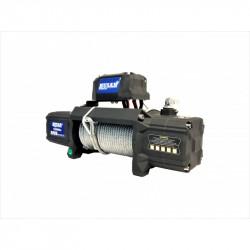 Troliu auto Husar Winch 12000Lbs 5443KG cablu de otel telecomanda cu fir si wireless