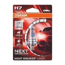 Bec H7 Night Breaker Laser Next Generation +150% 12V 55W