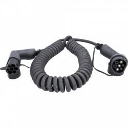 Cablu de incarcare spirala TYPE 2 / TYPE 2 7.4 KW 230 V 32 A 8M-EFUTURO KS-TOOLS