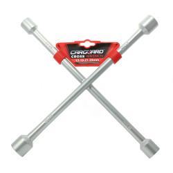 CARGUARD - Cheie de roată în cruce 17, 19, 21, 23 mm
