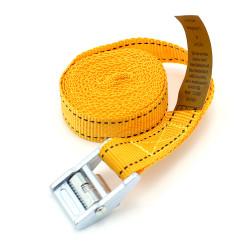Chinga de fixare marfa, simpla cu catarama Alpin, 70743, 2,5m/25mm