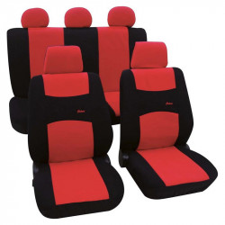 Husa scaun auto Petex, Colori, culoare rosu/negru