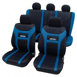 Huse auto Petex, Super Speed, culoare albastru/negru
