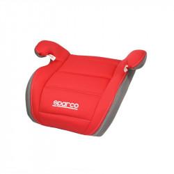 Inaltator auto Sparco Booster F100K, varsta recomandata 4-12 ani, Rosu/Gri