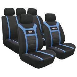 Pachet Set huse scaun fata si spate High Gear, albastru, Lampa