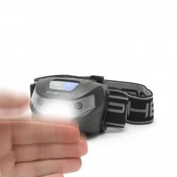 PHENOM - Lampă de cap cu acumulator și pornire cu senzor