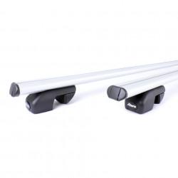 Set complet bare transversale ATERA asr aluminiu pentru Dacia Logan cu bare longitudinale intre 01/2007 - 2012