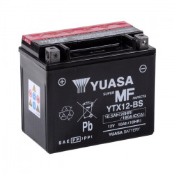Baterie moto, scuter, ATV 10.0 Ah - Yuasa YTX12-BS