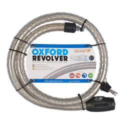 """Cablu Armat Anti-Furt cu lacat """"Revolver"""" Oxford"""
