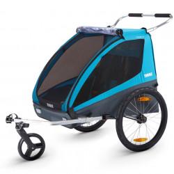 Carucior Chariot Thule Coaster XT Blue
