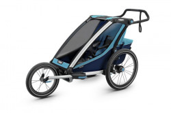 Carucior multisport Thule Chariot Cross 1 - Thule Blue/Poseidon