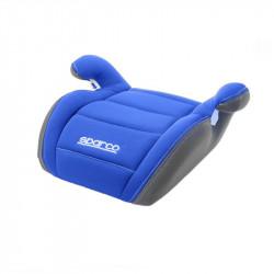Inaltator auto Sparco Booster F100K, varsta recomandata 4-12 ani, Albastru/Gri