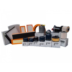 Pachet filtre revizie Dacia Logan MCV II 1.5 DCI, 75 CP, Filtre Dacia