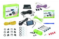 Set senzori de parcare Valeo Beep&Park 4x Sensors + 1 LCD Display