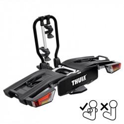 Suport biciclete Thule EasyFold XT 2B, pentru 2 biciclete cu prindere pe carligul de remorcare dedicat FIX4BIKE , 13 pini , pliabil ,aluminiu
