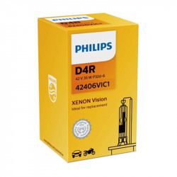 Bec auto Xenon pentru far Philips D4R Vision, 42V, 35W, 1 Buc