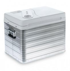 Cutie termoelectrica cu carcasa din aluminiu Mobicool Q40 AC/DC , alimentare la 12/230V, capacitate 39 litri