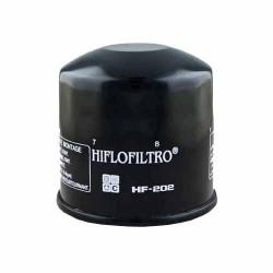 Filtru Ulei Hiflofiltro HF202 - Honda VF400/500/750/1000/1100, VT500/750/800/1100, CBX750, VFR750; Kawasaki EN450, EX500, VN700/750