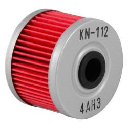 Filtru ulei K&N pentru motociclete, KN112 (HF112)