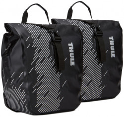 Geanta pentru bicicleta Thule Pack 'n Pedal - Shield Pannier S Black Small