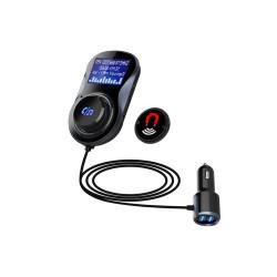 Incarcator auto 1xUSB QC3.0 si 1xUSB 2.4A cu bluetooth si modulator FM