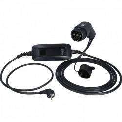 Incarcator auto mobil SCHUKO / TYPE 2 LCD 3.7 KW 230 V 6/8/10/15/16 A 5.7M-EFUTURO KS-TOOLS